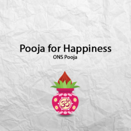 Pooja for Happiness