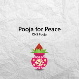 Pooja for Peace
