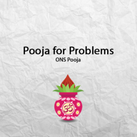 Pooja for Problems